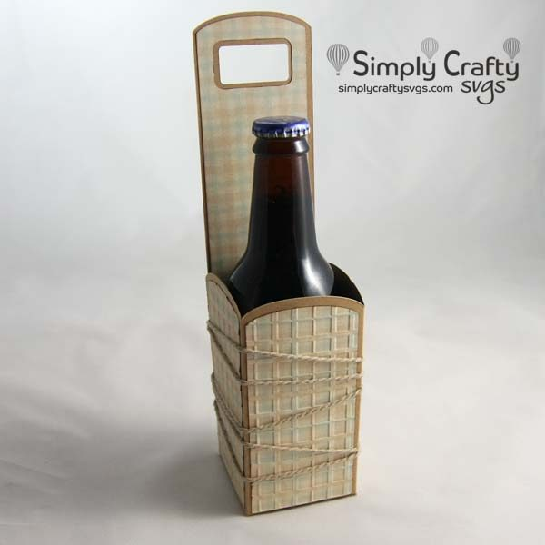 Bottle and Can Carriers SVG File