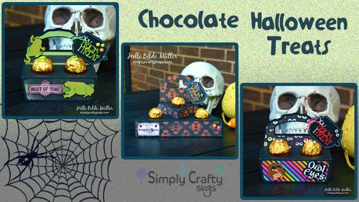Chocolate Halloween Treats by DT Helle