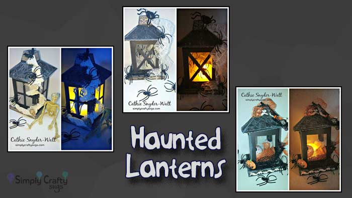Haunted Lanterns by DT Cathie
