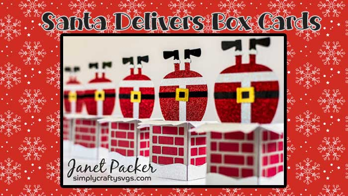 Santa Delivers Box Card by DT Janet – Tips on Making Multiple Cards