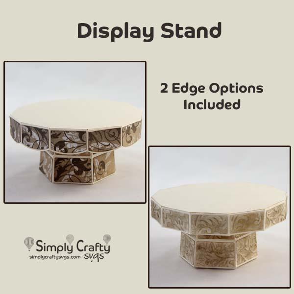 Display Stand SVG File