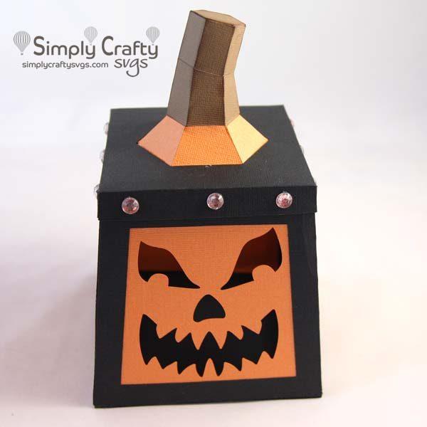 Halloween Pumpkin Lantern SVG File