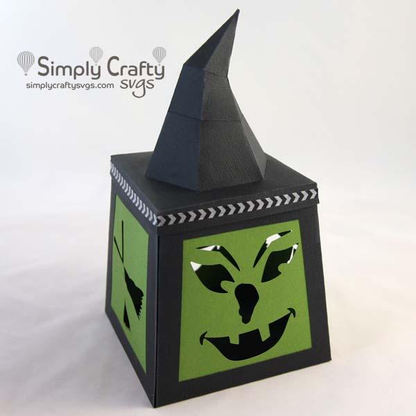 Witchy Lantern SVG File