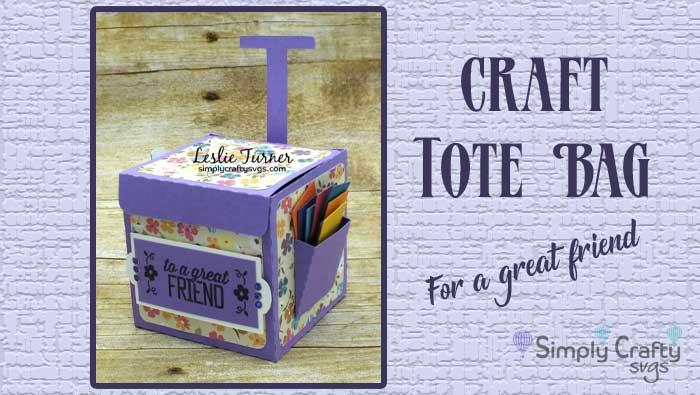 Craft Tote Bag by DT Leslie