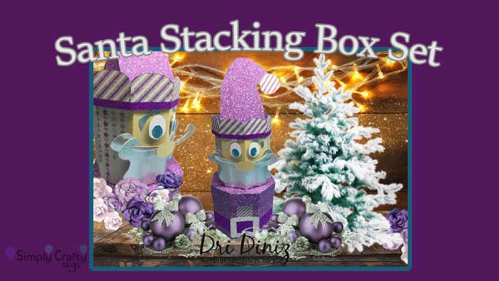 Santa Stacking Box Set by DT Dri