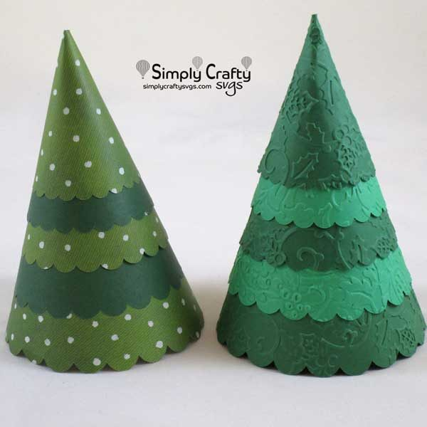 Cone Christmas Tree SVG File