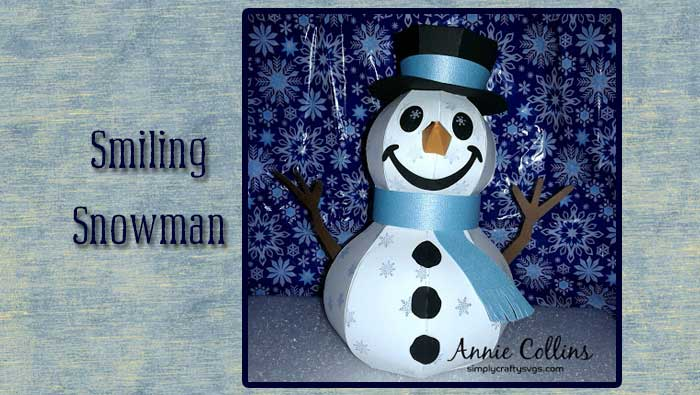 Smiling Snowman from DT Annie