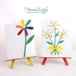 Daisy Card Set SVG File