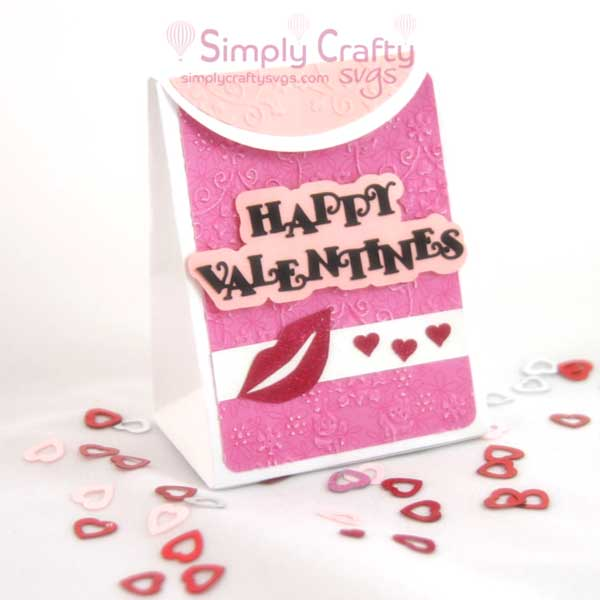 Valentine's Bag SVG File