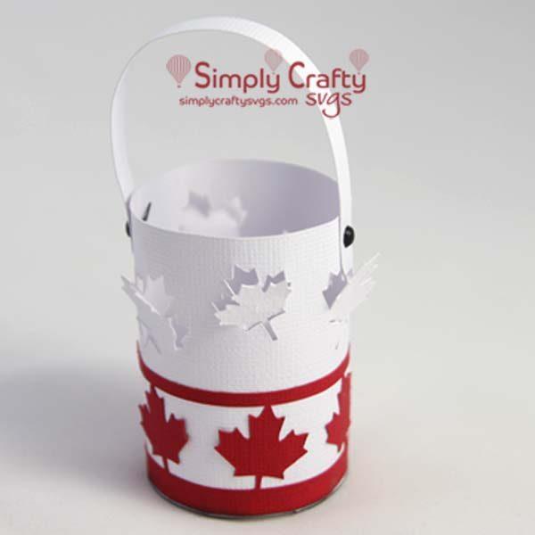 Canada Mini Lantern SVG File
