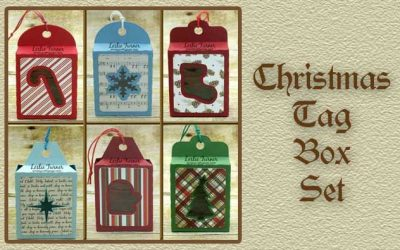 Christmas Tag Box Set By DT Leslie