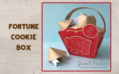Fortune Cookie Box by DT Janet
