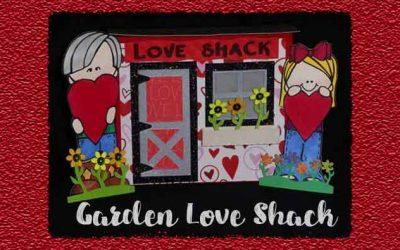 Garden Love Shack by DT Jana