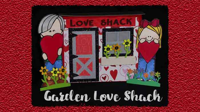 Garden Love Shack by DT Jana