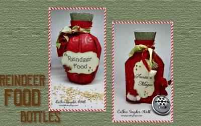 Reindeer Food Bottles by DT Cathie