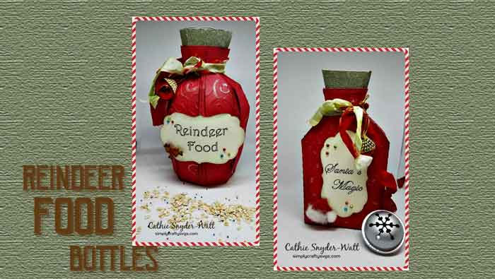 Reindeer Food Bottles by DT Cathie