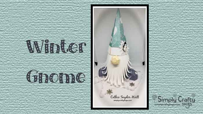 Winter Gnome by DT Cathie