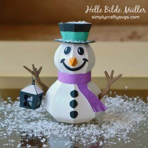 Happy Snowman by DT Helle