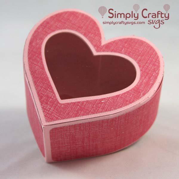 Heart Candy Box SVG File