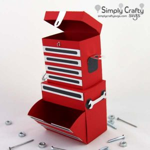 Tool Chest Box SVG File