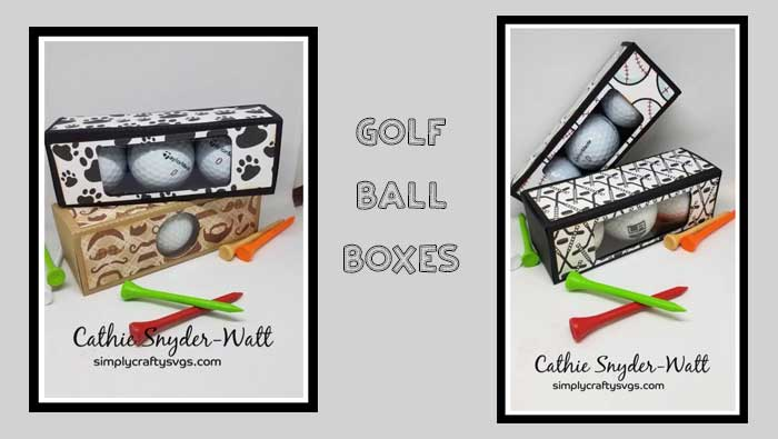 Golf Ball Boxes by DT Cathie
