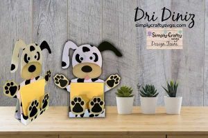 Dog Sticky Notepad Holder by DT Dri