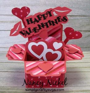 Valentine Box Card by DT Nancy