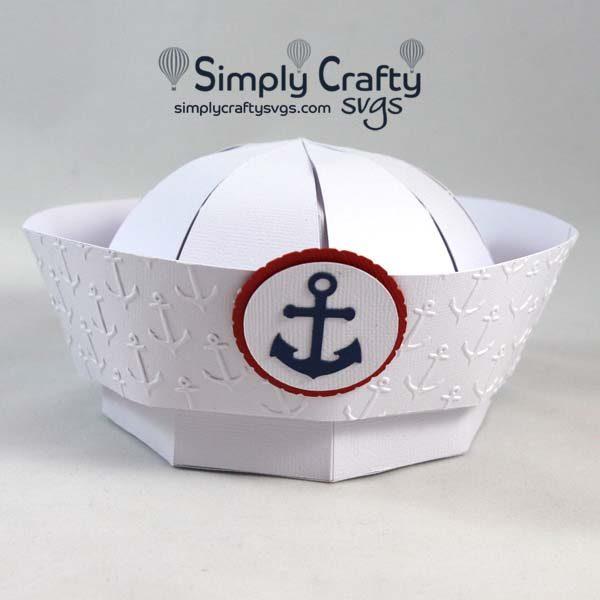 Sailor Hat SVG File