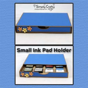 Small Ink Pad Holder SVG File