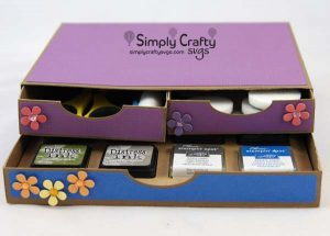 2 Drawer Organizer and Small Ink Pad Holder