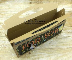 Wide Gable Gift Box By DT Leslie