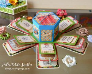 Explosion Box for Mom by DT Helle