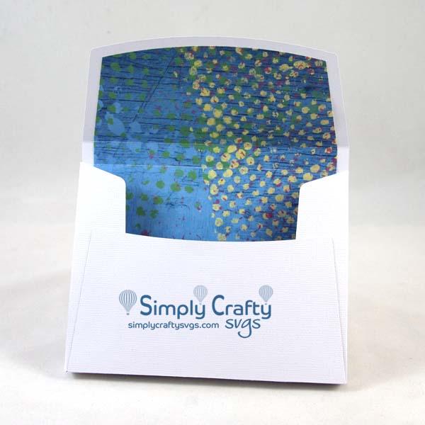 Box Envelope with liner SVG file