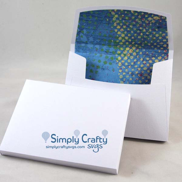 Box Envelope for A2 Card – Simply Crafty SVGs