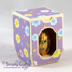 Chocolate Egg Box SVG File