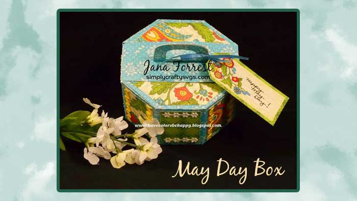 May Day Box by DT Jana