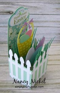 Easter Egg Hunt Box Card by DT Nancy