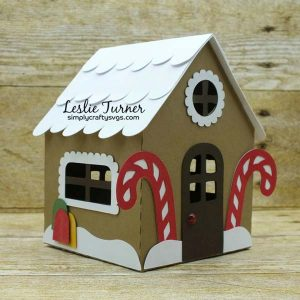 Gingerbread House Box By DT Leslie