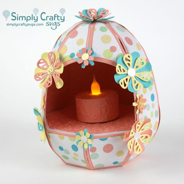 Hollow Easter Egg SVG File