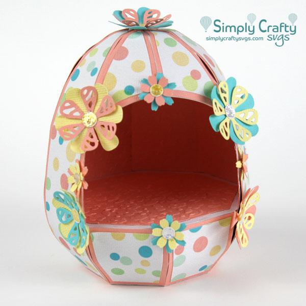 Hollow Easter Egg SVG