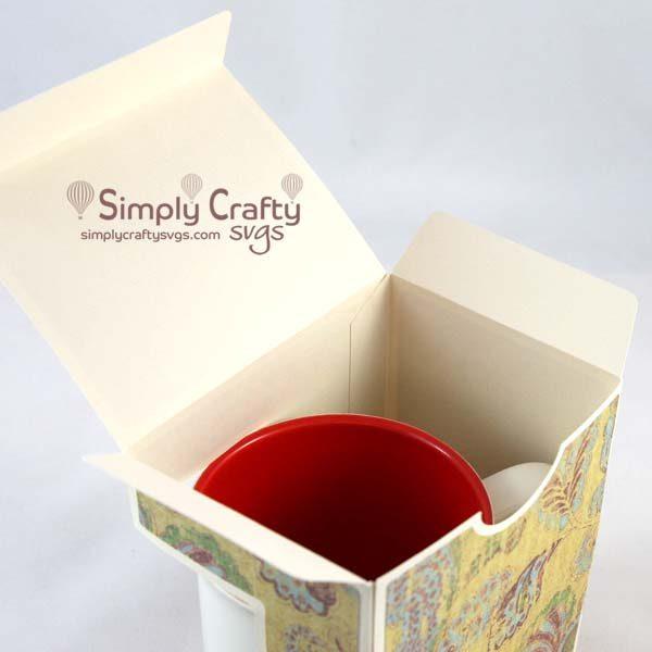 Large Mug Box SVG File