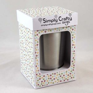 Small Tumbler Box 12 oz Mini