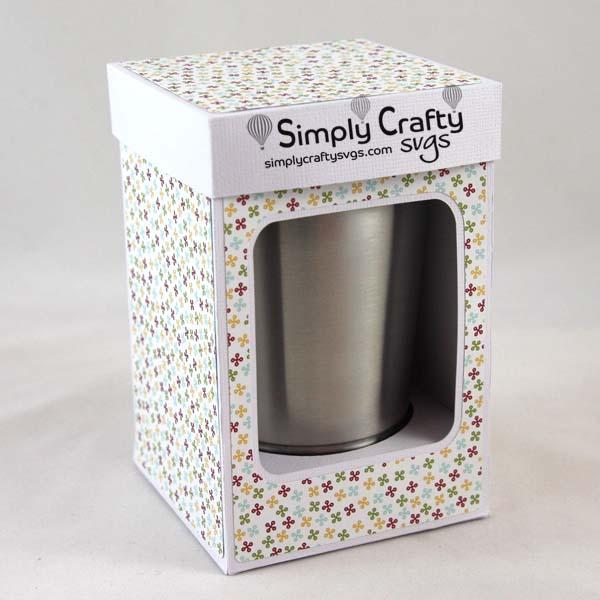Small Tumbler Box 12 oz Mini