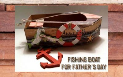 Fishing Boat for Fathers Day by Annie