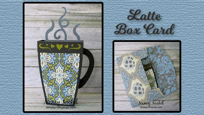 Latte Box Card by DT Nancy