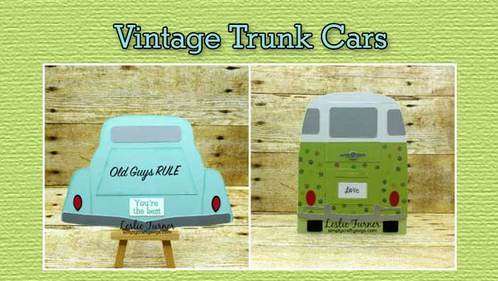 Vintage Trunk Cars by DT Leslie