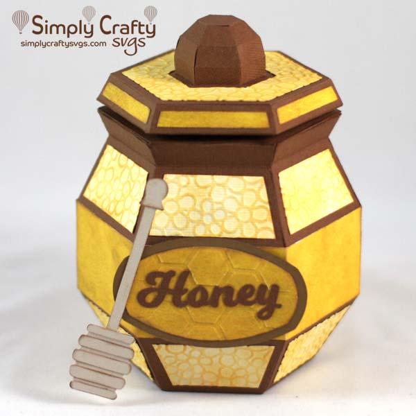 Honey Jar SVG File