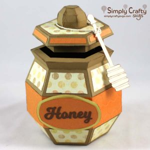 Honey Jar SVG File