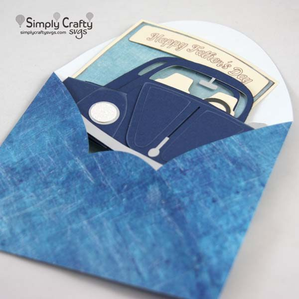 ug Box Card SVG File