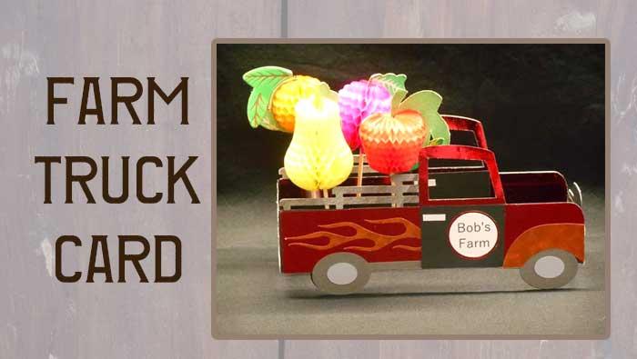 Farm Truck Card by Jana